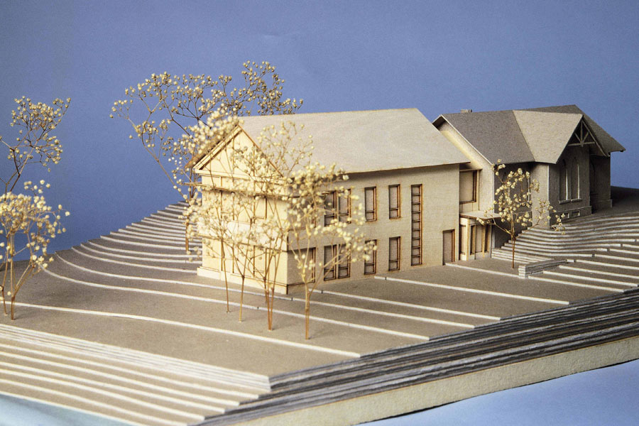Minot-Sleeper Library architecture model